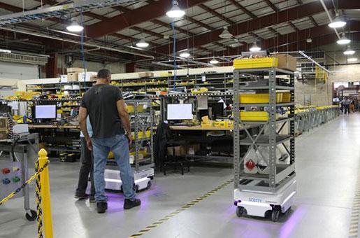 Warehouse Logistics Robots & Automation | RARUK Automation